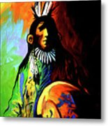 Indian Shadows Metal Print by Lance Headlee
