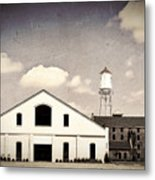 Indiana Warehouse Metal Print by Amber Flowers