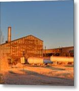 Industrial Site 1 Metal Print by Douglas Barnett