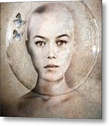 Inner World Metal Print by Jacky Gerritsen