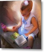 Innocence And The Bible - Cuba Metal Print by Bob Salo