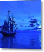 Into The Blue Metal Print by Timothy McPherson