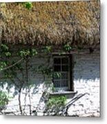 Irish Farm Cottage Window County Cork Ireland Metal Print by Teresa Mucha
