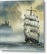 Island Mist Metal Print by James Williamson
