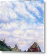 Island Sky Metal Print by Kenneth Grzesik