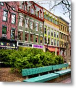 Ithaca Commons Metal Print by Christina Rollo