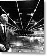 Jack Kent Cooke In The Forum Sports Metal Print by Everett