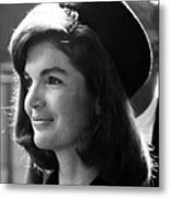 Jacqueline Kennedy, Joins The President Metal Print by Everett