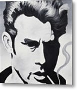 James Dean  Metal Print by Joseph Palotas