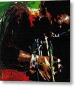Jazz Miles Davis 1 Metal Print by Yuriy  Shevchuk