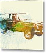 Jeep Wagoneer Metal Print by Naxart Studio