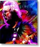 Jerry Garcia Grateful Dead Signed Prints Available At Laartwork.com Coupon Code Kodak Metal Print by Leon Jimenez