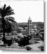Jerusalem View From The Southwest Metal Print by Munir Alawi
