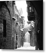 Jerusalem: Winter Metal Print by Granger