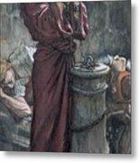 Jesus In Prison Metal Print by Tissot