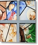 Jesus Is Chinese Metal Print by Christine Till
