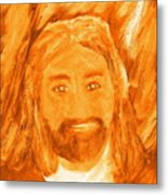 Jesus Is The Christ The Holy Messiah 3 Metal Print by Richard W Linford