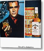 Jim Beam Ad, 1966 Metal Print by Granger