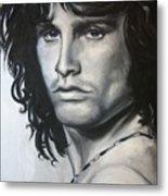 Jim Morrison Metal Print by Eric Dee