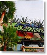 Jimmy Buffets Margaritaville In Las Vegas Metal Print by Susanne Van Hulst