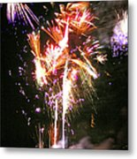Joe's Fireworks Party 2 Metal Print by Charles Harden