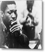 John Coltrane 1926-1967, Master Jazz Metal Print by Everett