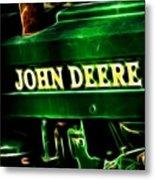 John Deere 2 Metal Print by Cheryl Young