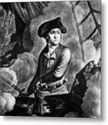 John Paul Jones 1747-1792, American Metal Print by Everett