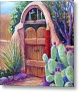 Josefina's Gate Metal Print by Candy Mayer