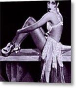Josephine Baker 1906-1975, African Metal Print by Everett