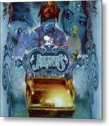 K-os Atlantis Hymns For Disco Metal Print by Nelson Garcia