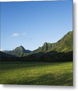 Kaaawa Valley Metal Print by Dana Edmunds - Printscapes