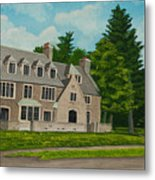 Kappa Delta Rho North View Metal Print by Charlotte Blanchard