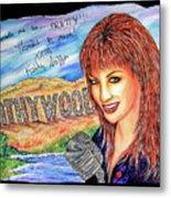 Kathywood Metal Print by Joseph Lawrence Vasile