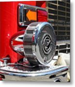 Kensington Fire District Fire Engine Siren . 7d15879 Metal Print by Wingsdomain Art and Photography