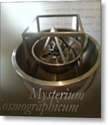 Kepler's Cosmological Model Metal Print by Detlev Van Ravenswaay