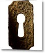 Key Hole Metal Print by Tony Cordoza