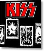 Kiss No.03 Metal Print by Caio Caldas
