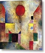 Klee: Red Balloon, 1922 Metal Print by Granger