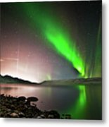 Kleifarvatn Lake Metal Print by Gudjon Otto Bjarnason