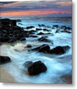 Koloa Dawn Metal Print by Mike  Dawson