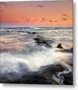 Koloa Dusk Metal Print by Mike  Dawson