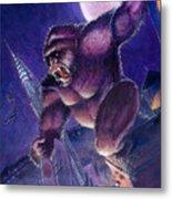Kong Metal Print by Ken Meyer jr