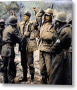 Korean War: Prisoners Metal Print by Granger