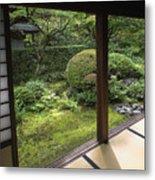 Koto-in Zen Temple Side Garden - Kyoto Japan Metal Print by Daniel Hagerman