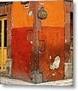 La Esquina 2 Metal Print by Mexicolors Art Photography