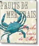 La Mer Shellfish 1 Metal Print by Debbie DeWitt