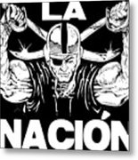 La Nacion Metal Print by Brian Child