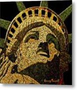 Lady Liberty Metal Print by Doug Powell