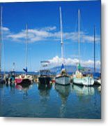 Lahaina In Blue Metal Print by Ron Dahlquist - Printscapes